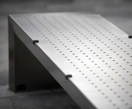 s06 stainless steel bench