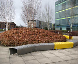 t3 - aluminium and stainless steel bench