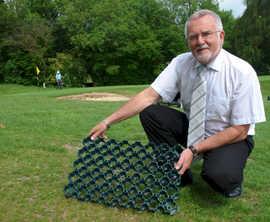 GroundGuard grass surface repair, Faversham Golf Course