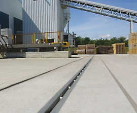 SUDS water management system, Mansfield Brick facility