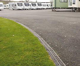 SUDS scheme at Salop Leisure in Shrewsbury