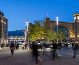 Channel drainage helps redevelopment of King's Cross