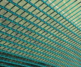 Dulok Rebound™ double wire sports panel fencing system