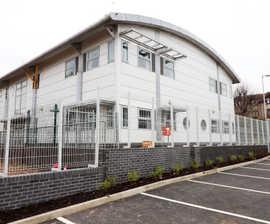 Bespoke school fencing package for London primary school