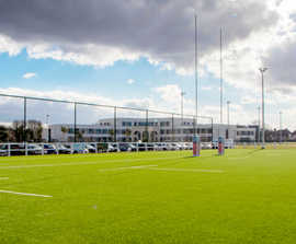 New sports fencing for Grasshoppers Rugby Club