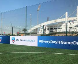 Sports fencing for football training centre - Abu Dhabi