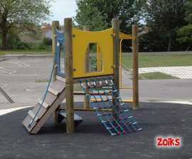 Zoiks multi-play structures
