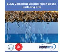SuDS-compliant resin bound surfacing CPD webinar