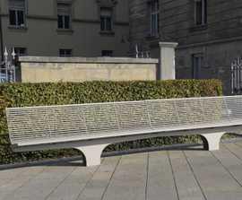 Siardo S20R stainless steel bench