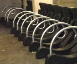 Streetpod cycle parking for 150 bikes for Barratt Homes