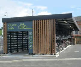 Cycle hubs - bespoke design, manufacture, installation