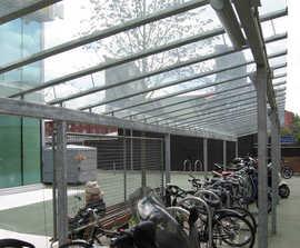Josta Berlin cycle shelter