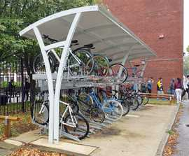 Higher Kennet cycle shelter