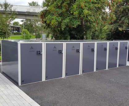 Velo-Box cycle locker