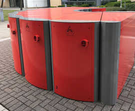 Velo-Safe cycle lockers for Glasgow business park