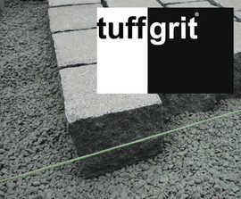 tuffgrit bedding aggregate for unbound paving