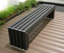 Avenue - recycled plastic bench