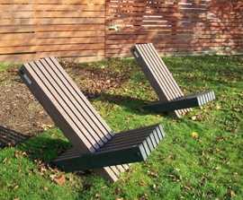 Atlantic - recycled plastic seat
