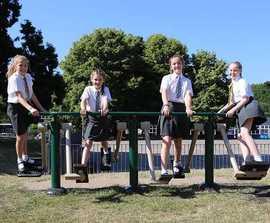 Cardio Combi outdoor gym equipment for children