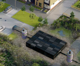 SDS GEOlight® Modular Underground Stormwater Storage