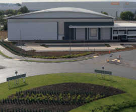 Stormwater treatment systems for rail freight terminal