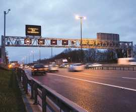 SDS provide pollution management to motorway improvement