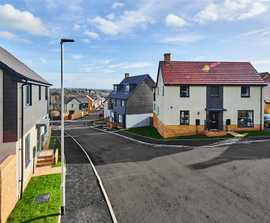 Drainage system protects 1,200 new homes from flooding