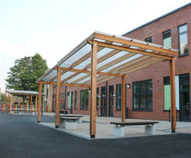 External Furniture and Cycle Shelters: Primary School
