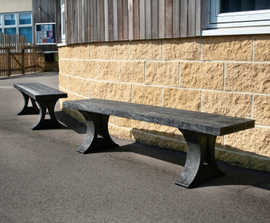 Pewsham Recycled Plastic Bench - PBN430