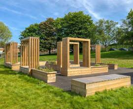 Bespoke Street Furniture for Leesons Primary School