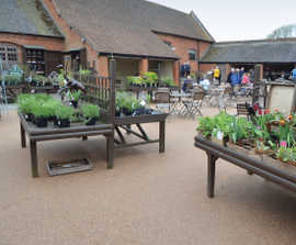 Clearstone® restores NT Baddesley Clinton courtyard