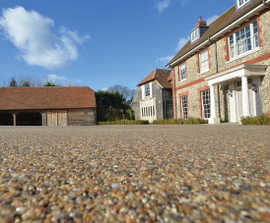 Clearbound Standard® resin bound surfacing