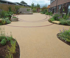 Clearbound® resin bound surfacing for public spaces