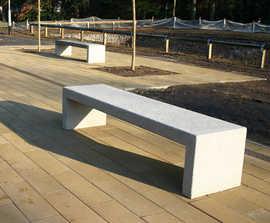 BLOC contemporary concrete seat
