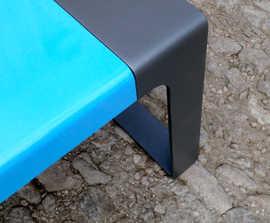 Murton steel bench