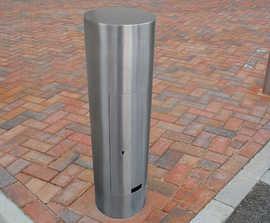 Zenith® - stainless steel service bollard (ZEN707)