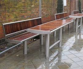 Horizon picnic benches & table