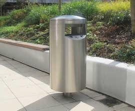 Zenith® - stainless steel or zintec steel litter bin