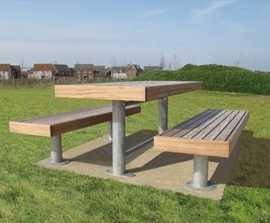Elements® picnic bench & table