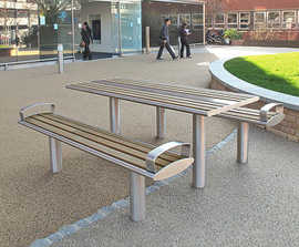 Zenith® picnic benches and table