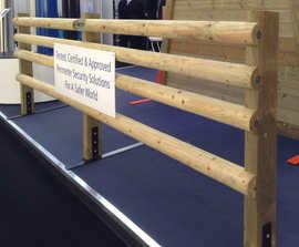 Linebacker® PNR HVM timber fence