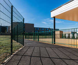Secure perimeter and sports fencing for primary school