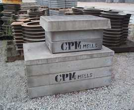 Precast concrete household inspection chambers