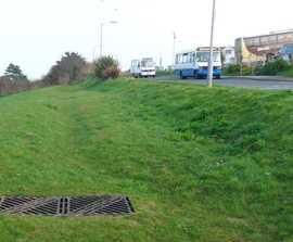 Retrofit SuDS scheme, Trenwith Car Park, Cornwall