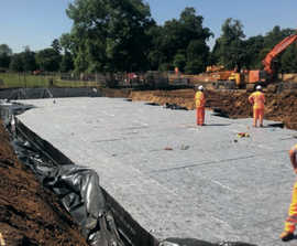 Modular stormwater storage for low-lying London parks