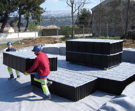 Stormcell® geocellular stormwater storage system
