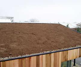 Lindum lightweight, extensive green roof substrate