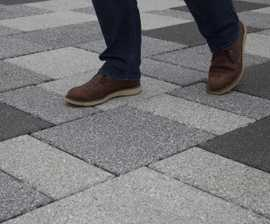 Conservation X Priora - permeable concrete paving