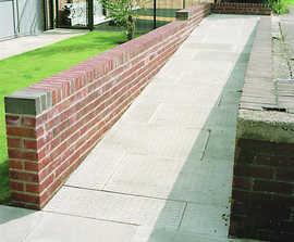 Barface concrete tactile paving