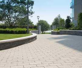 Priora permeable concrete block paving system
